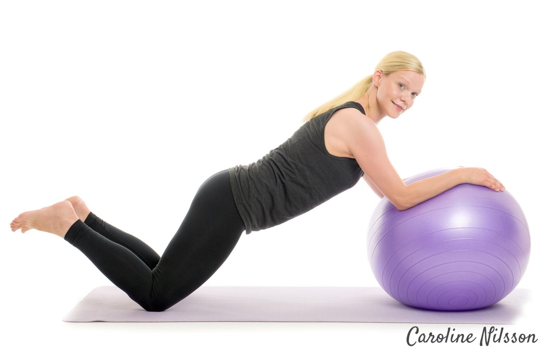 Plankan med bollrull
