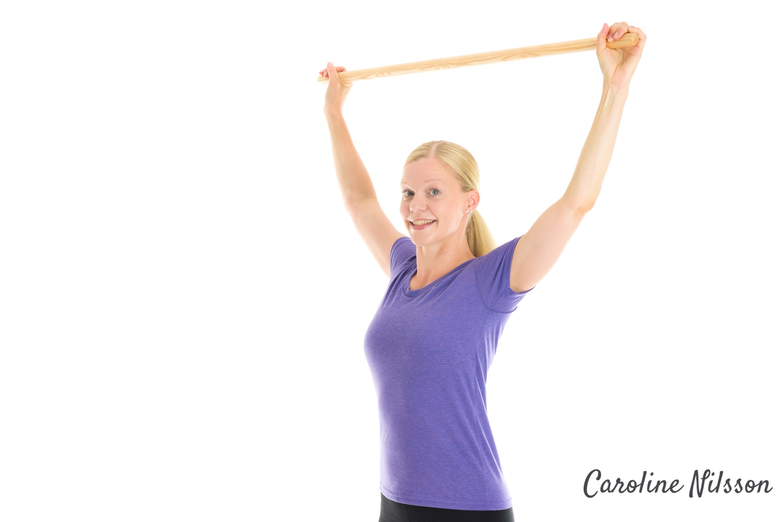 övning för bättre hållning