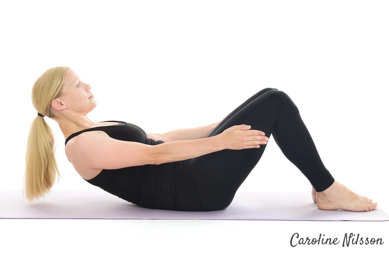 Starkare magmuskler med crunches