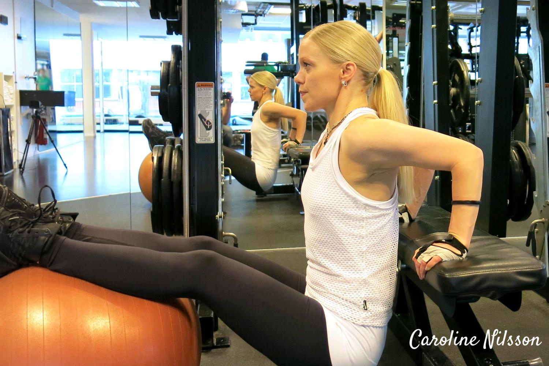 dips är bra träning för armarnas baksida