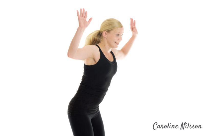 Grodhopp är bra träning för ben och bak