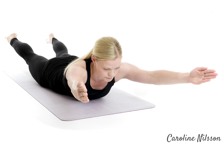 Helkroppslyft tränar hela kroppens baksida