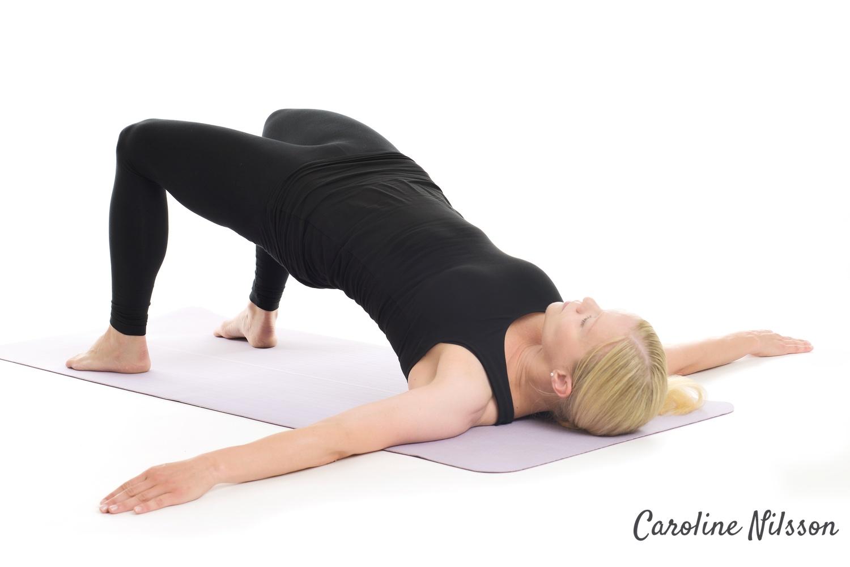 Höftlyft är en bra övning som tränar hela kroppens baksida