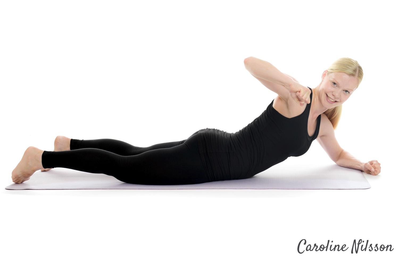 Sneda rygglyft