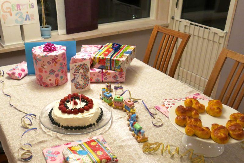 Idag fyller lille Arvid 3 år