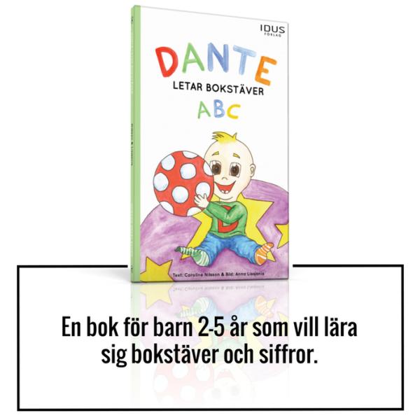 Barnbok ABC och siffror för barn 2-5 år