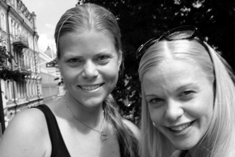 Terese och jag i bloggvärlden