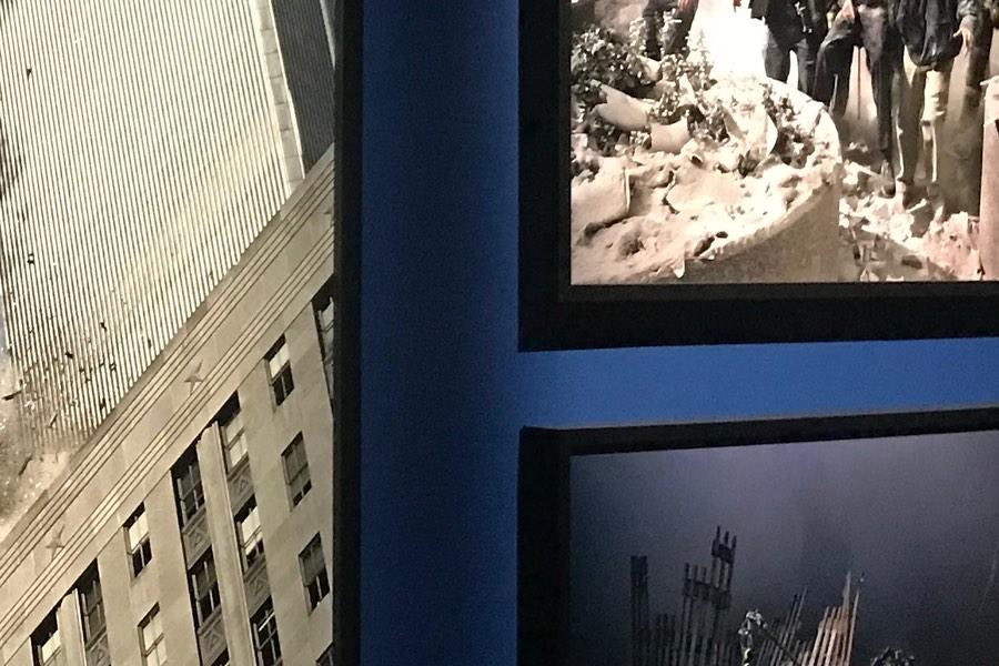 James Nachtwey fotograferade i New York 11 september 2011.